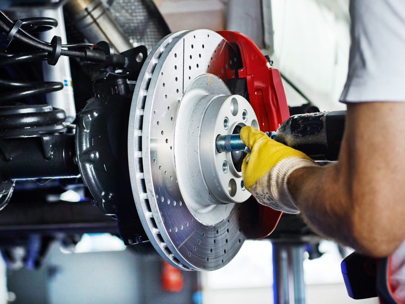 Mechanic In Garage | UK Car Finance