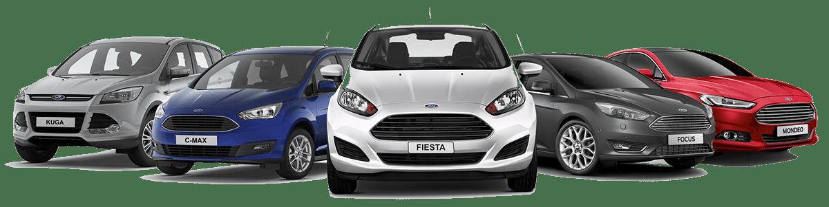 Full Ford Range