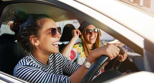 Girls Driving | UK Car Finance