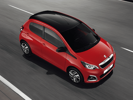 Peugeot 108 finance | uk car finance