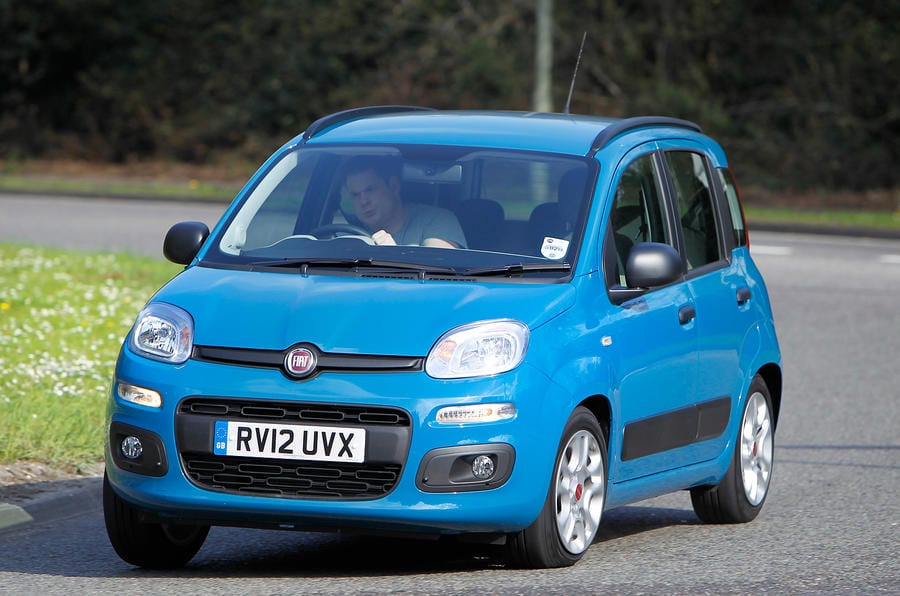 Fiat panda | best cars for tall people