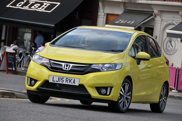 honda jazz | best cars for tall people