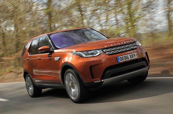 Land rover discovery | best cars for tall people