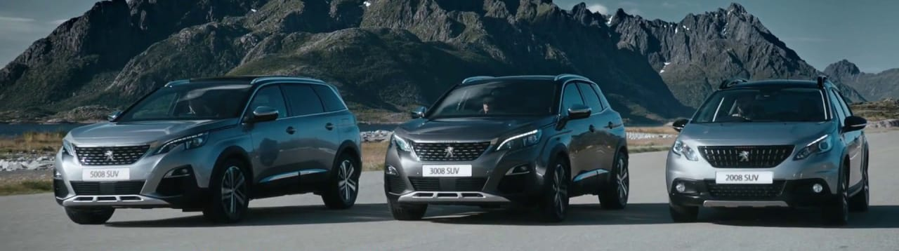 Peugeot SUV range | uk car finance