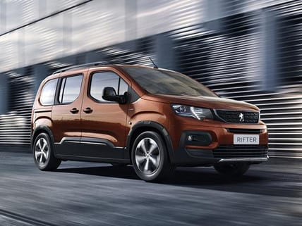 Peugeot rifter | uk car finance