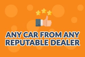any car available from any dealer   UK car finance