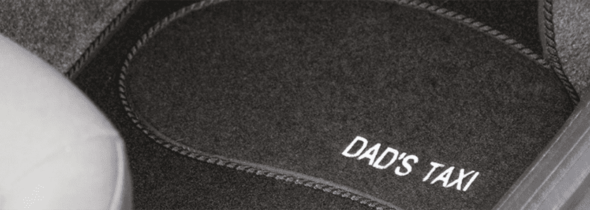 personalised car mats