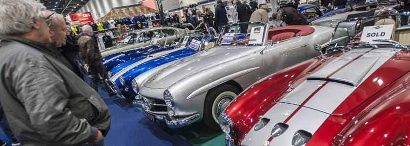 London classic car show | uk car finance