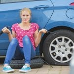 How to change a tyre?