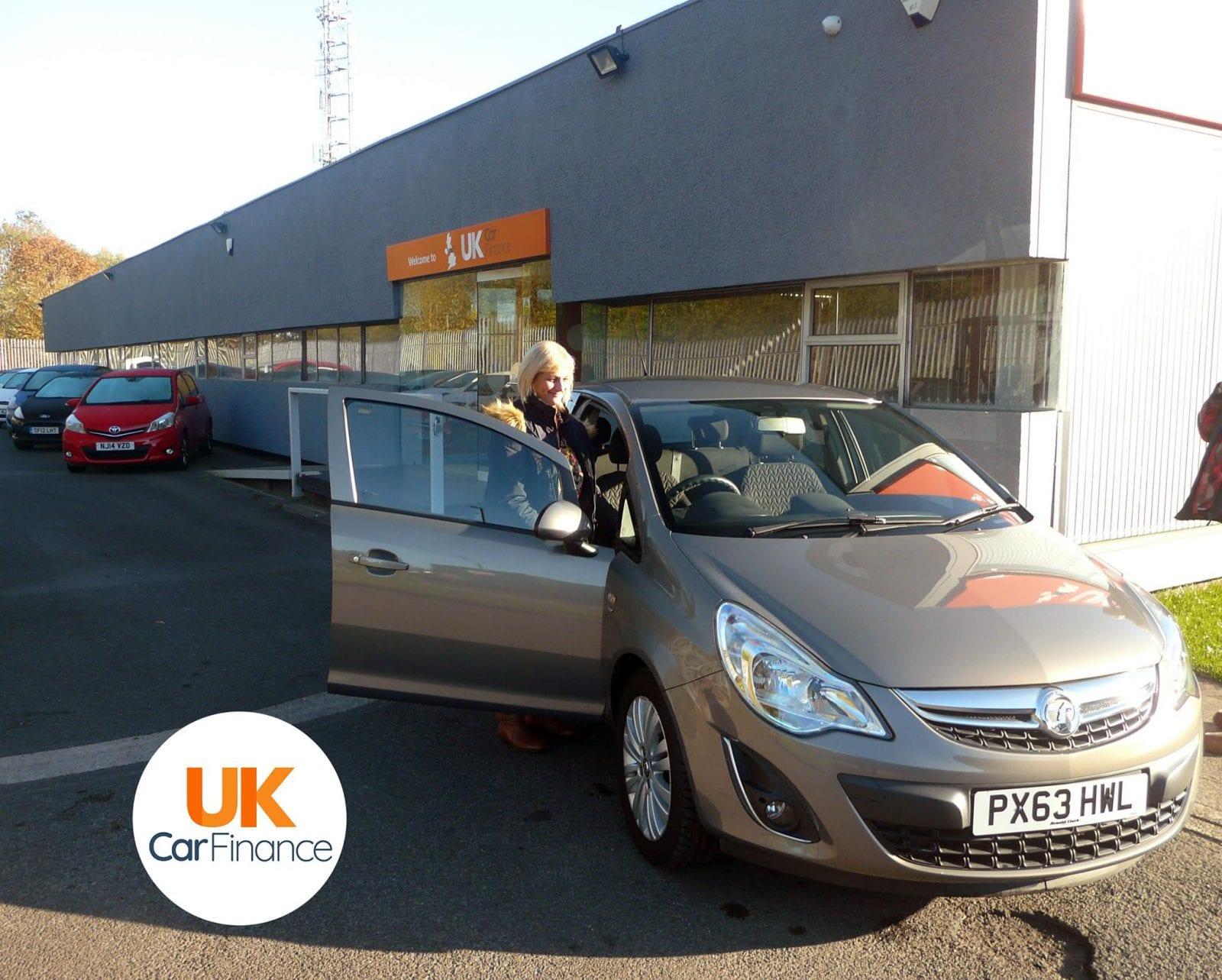 Happy UK Car Finance customer