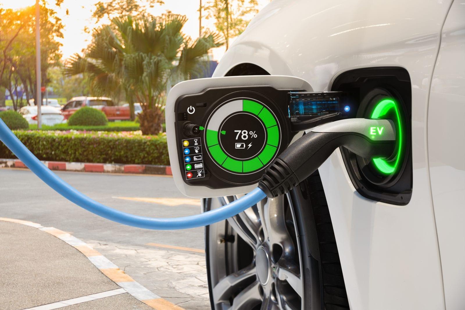 Eco Friendly Car charging