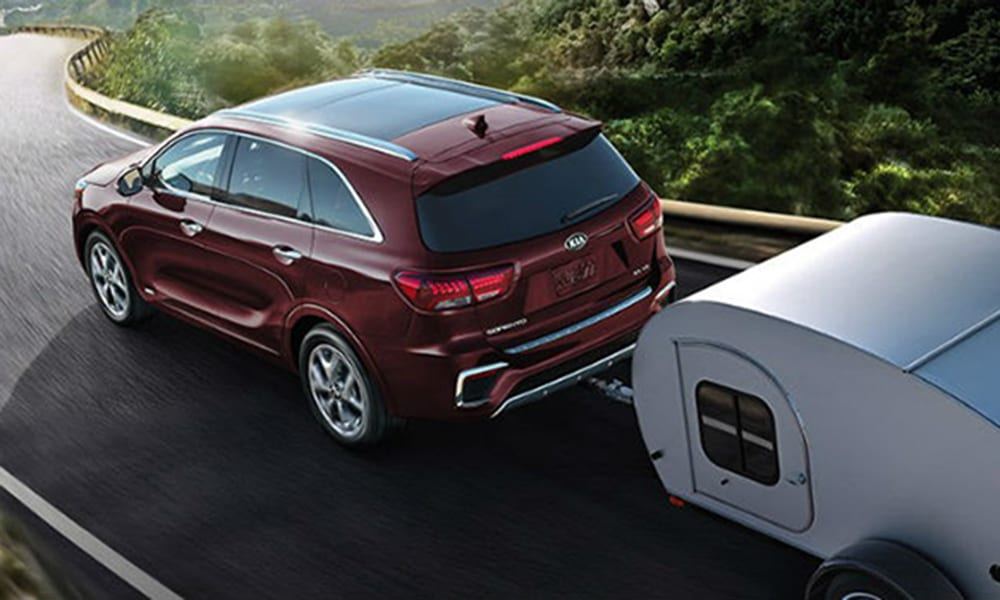 kia sorento best cars for towing 2019