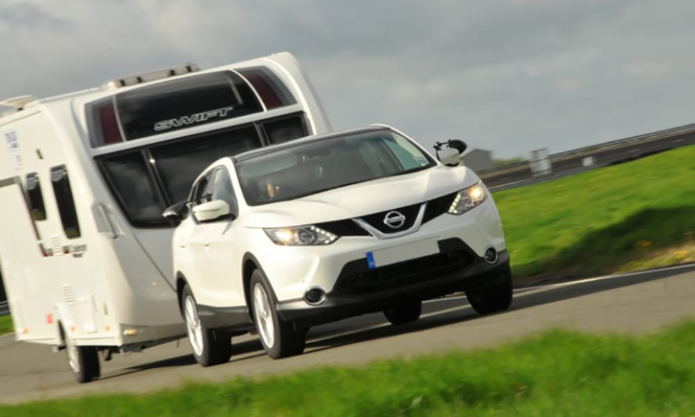 nissan qashqai best cars for towing 2019