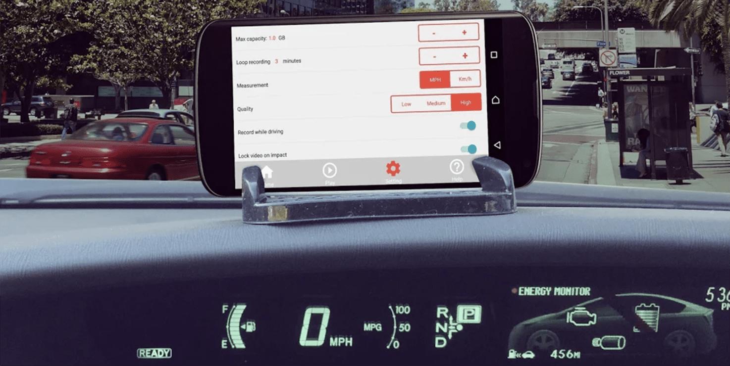 SmartDashCam - best driving apps 2019