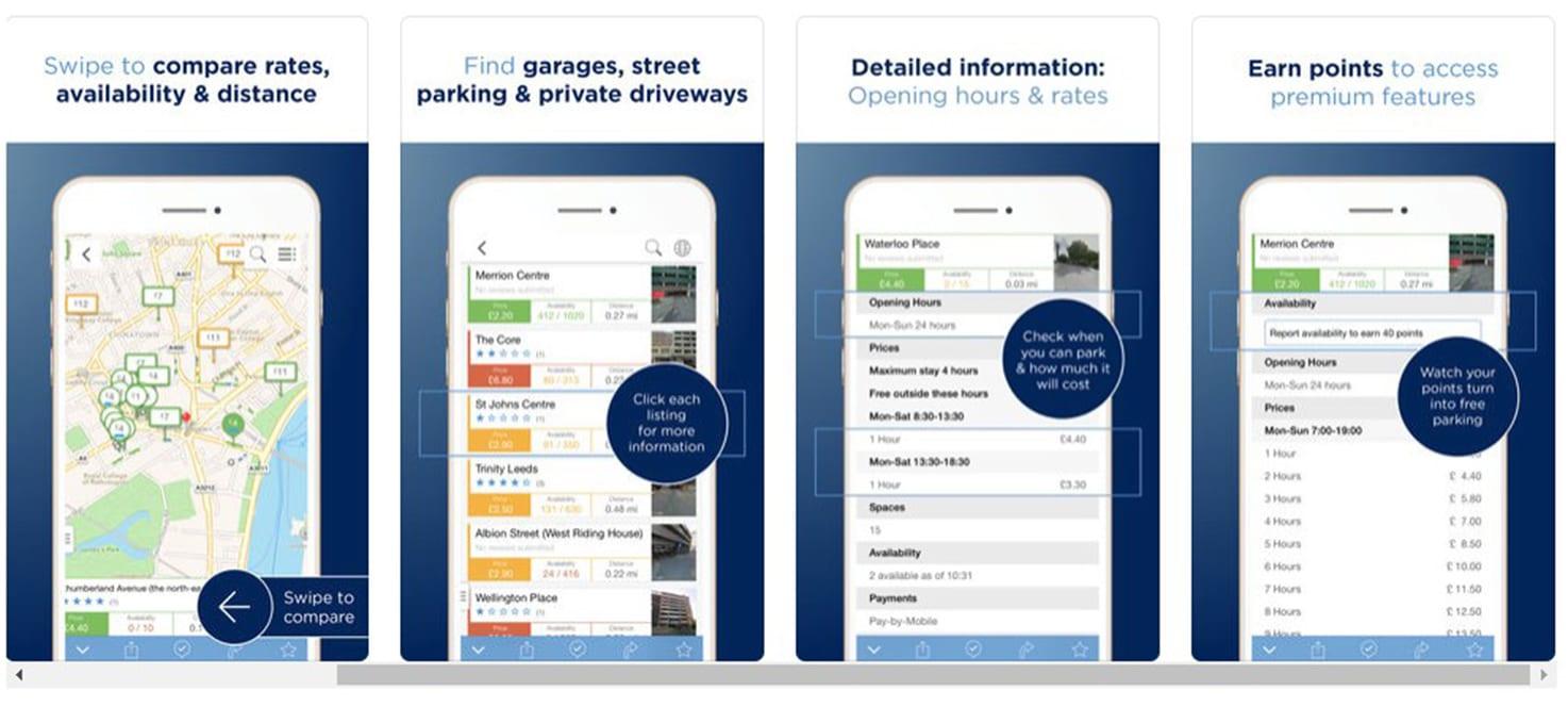 parkopedia - best driving apps 2019