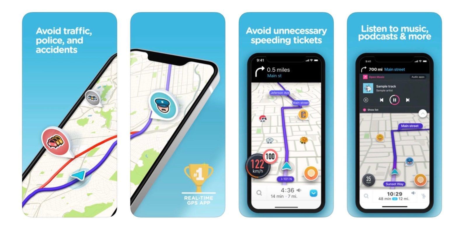 waze - best smartphone driving apps 2019