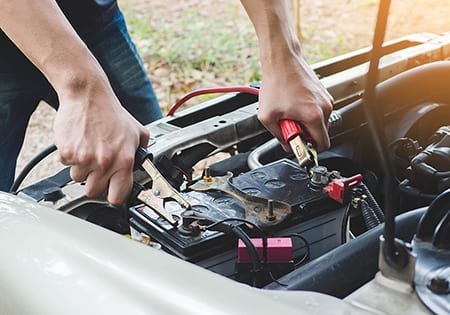 change car battery