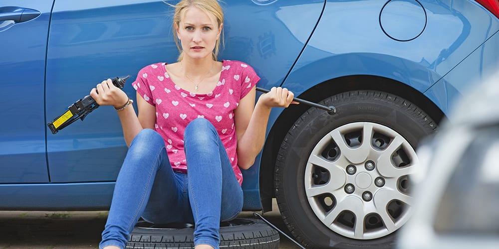 learn how to change a tyre