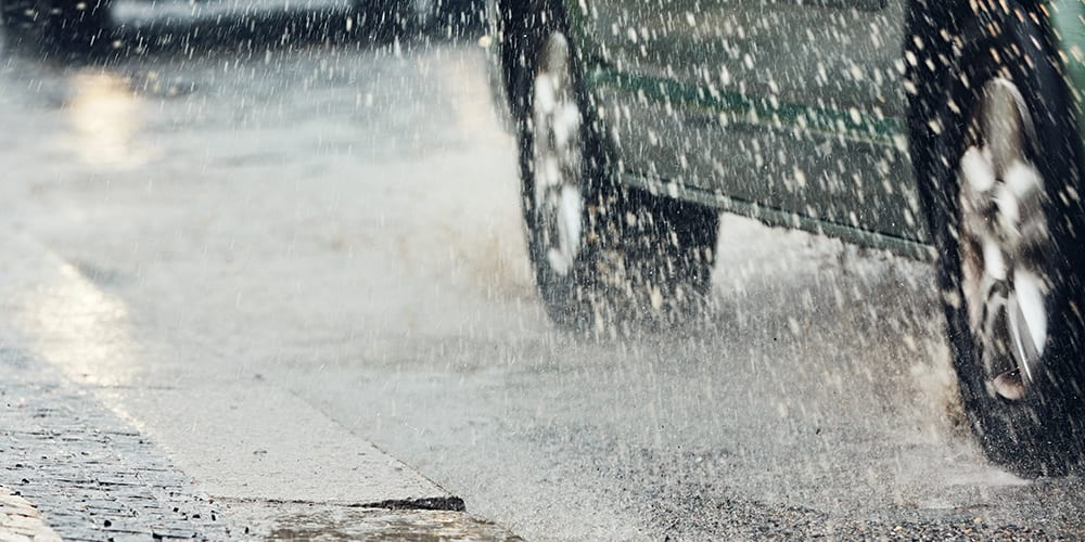 driving in the rain - summer driving tips