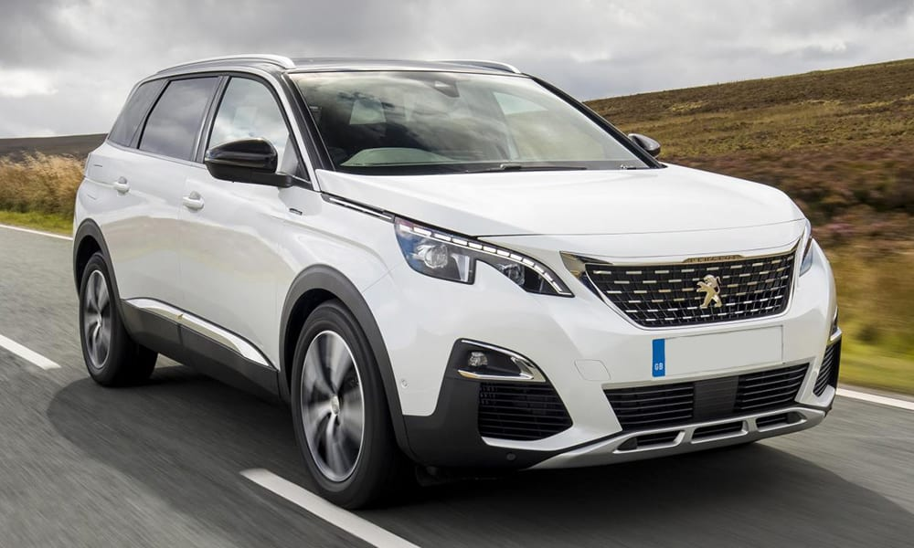 peugeot 5008 - cars with big boots