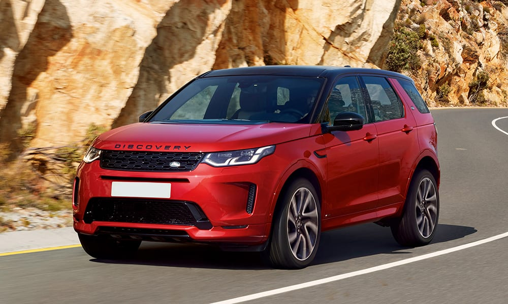 Discovery Sport - cars with big boots