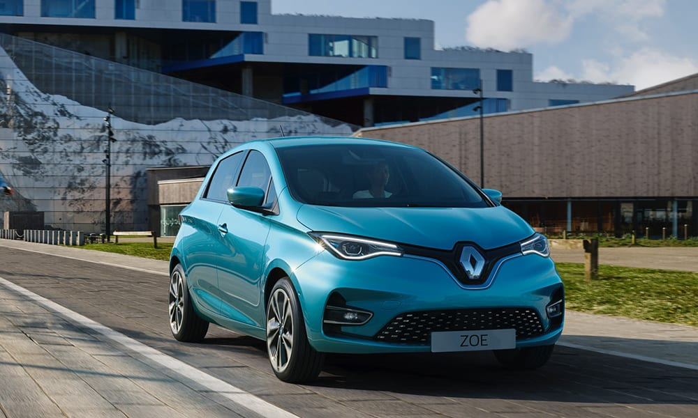 best used cars under 10k - renault zoe