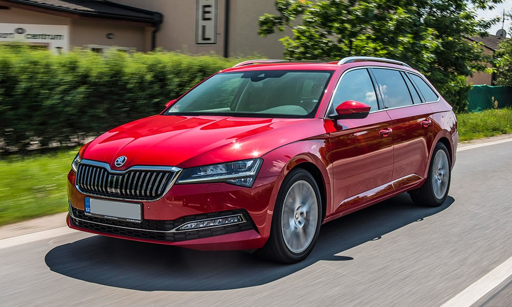 skoda superb - cars with big boots
