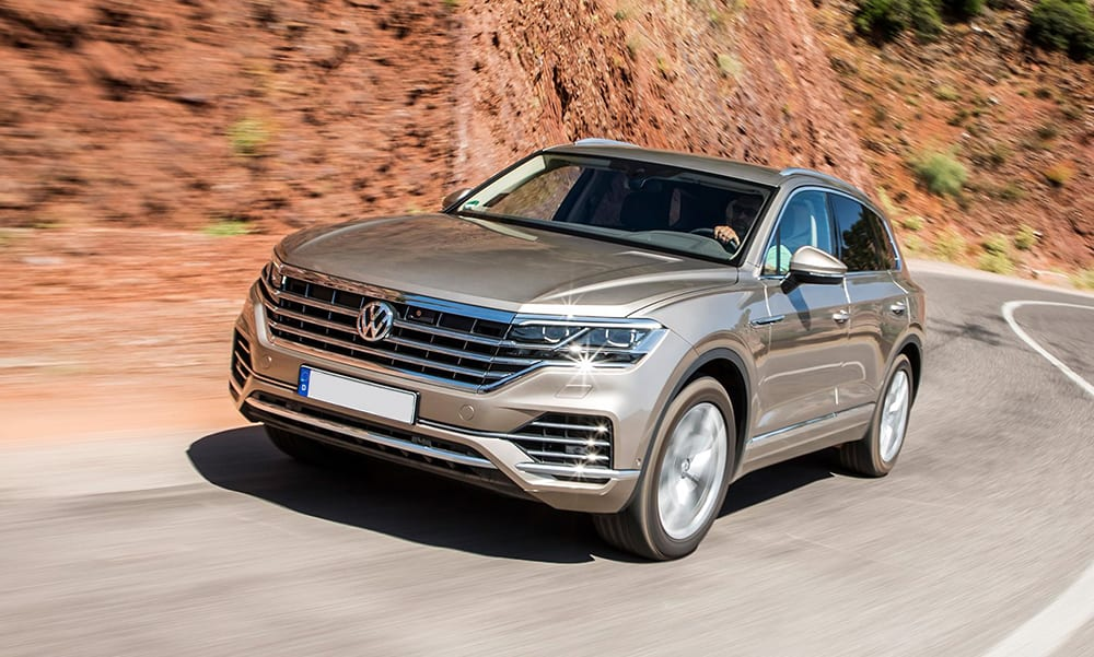 Volkswagen Touareg 2019 - cars with big boots