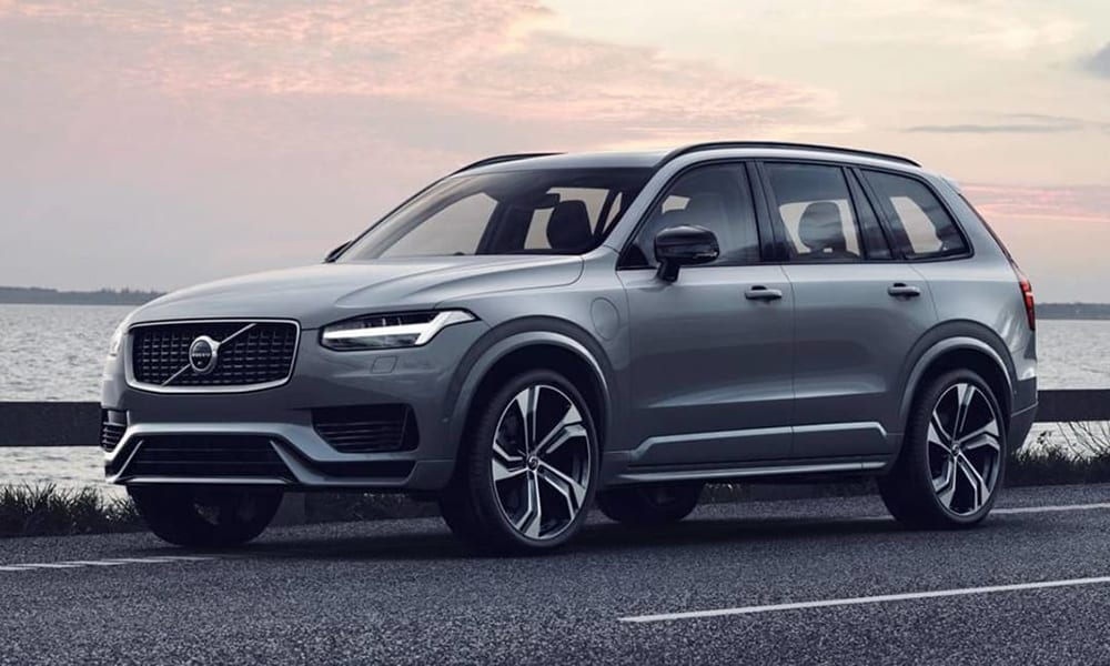 volvo xc90 - best cars with big boots