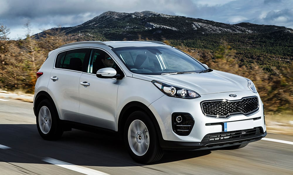 best used cars under 10k - kia sportage