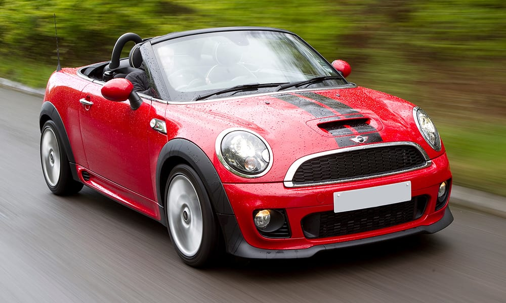 best used cars under 10k - mini roadster