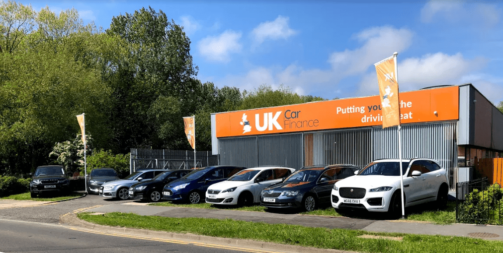 UK Car Finance External Shot